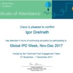 Cisco certifikacia CCNA/CCNP