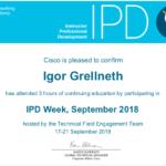 Cisco Netacad Certificate-Sept-2018